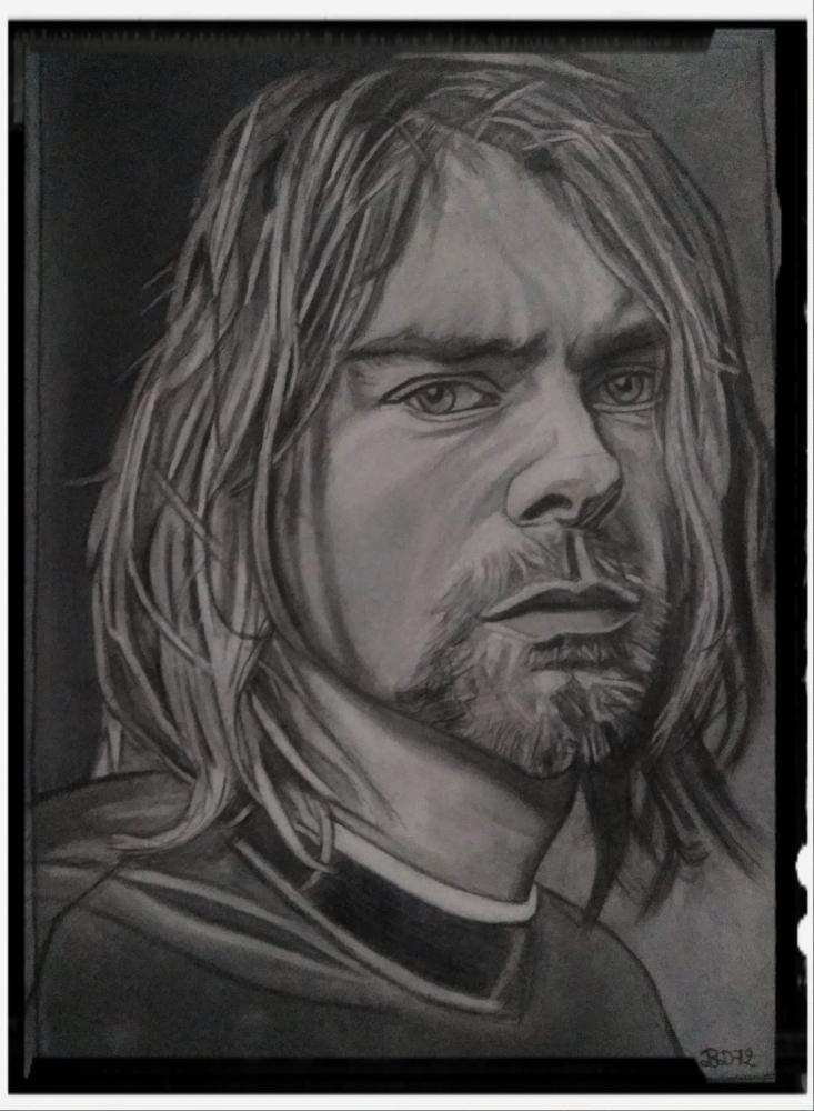 Kurt Cobain by beasalsa